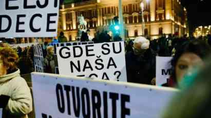 """Dvanaesti beogradski protest """"1 od 5 miliona"""""""