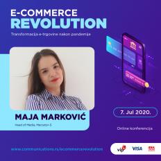 E-COMMERCE REVOLUTION: Maja Marković – E-commerce je ušao na velika vrata i trajno promenio tržište