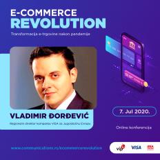 E-COMMERCE REVOLUTION: Vladimir Đorđević – COVID-19 podstakao je prihvatanje e-trgovine i razvio novi način kupovine