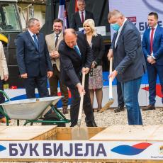 EPS i ERS zajedno do zelene energije: Položen kamen temelјac za HE Buk Bijela