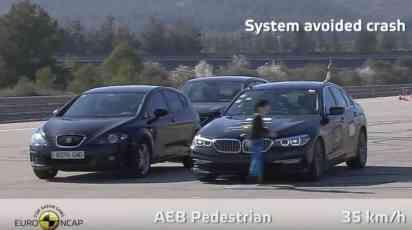 Euro NCAP: Pet zvezdica za BMW Seriju 5