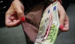 Evro u ponedeljak 117,58 dinara