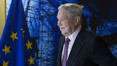 Fajnenšel tajms: Soros ličnost godine