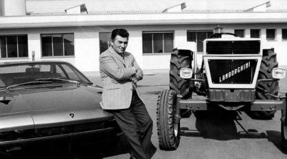 Ferruccio Lamborghini: od traktora do super-automobila