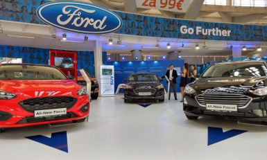 Ford Focus debitovao na beogradskom auto-salonu FOTO