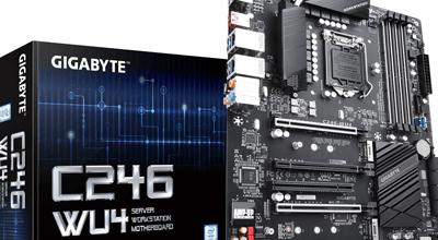 GIGABYTE predstavio C246-WU4 matičnu ploču