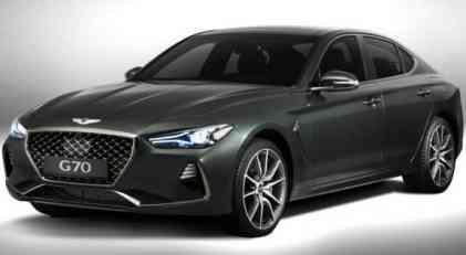 Genesis G70 izabran za Severnoamerički automobil godine 2019
