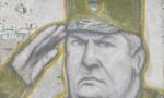 Grafiti sa likom Ratka Mladića osvanuli na zgradama u Baru
