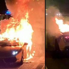 HA, HA, HA! Platio je 12.000 evra za popravku LAMBORGINIJA - zapalio se tri sata kasnije! (FOTO)