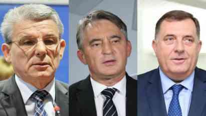 Hoće li Dodik, Komšić i Džaferović nešto uraditi za BiH?