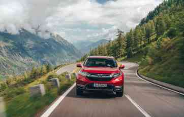 Honda CR-V za Evropu iz svih uglova (FOTO)