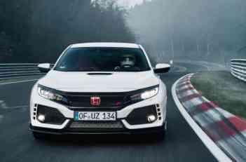 Honda Civic Type R - rekord na Nirburgringu