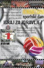 IGRAJ ZA ZDRAVLJE – BUDI HUMAN! Pomozimo 14-godišnjoj odbojkašici Dragani Antić