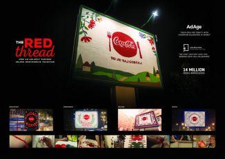 """[ISTAKNUTI KOMUNIKACIJSKI PROJEKTI 2018] MCCANN BEOGRAD i UM BEOGRAD: """"The Red Thread"""" za THE COCA-COLA COMPANY"""