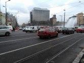 Isključena fontana na Slaviji, oštećena u nesreći VIDEO