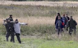 Izbeglice ostavljene na putu kod Soluna