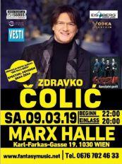 Izvučeni dobitnici karata za Čolin koncert u Beču