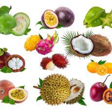JEDNO ČAK MOŽE DA VAS UBIJE! Za neke ste MOŽDA i čuli - 13 vrsta UKUSNOG voća iz celog SVETA! (FOTO)