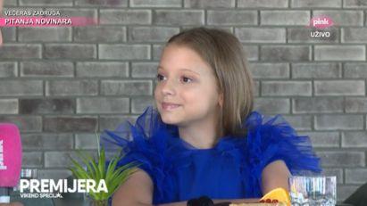 JEDVA ČEKAM: Pinkova zvezdica Darija Vračević UZBUĐENA pred nastup na DEČJOJ PESMI EVROVIZIJE! (FOTO)
