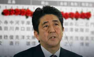 Japanski mediji: Abe će zadržati dvotrećinsku većinu