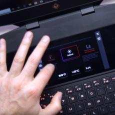 Jedistveni laptop sa DUALNIM ekranom (VIDEO)