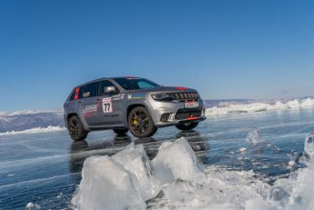 Jeep Grand Cherokee Trackhawk najbrži terenac na ledu VIDEO