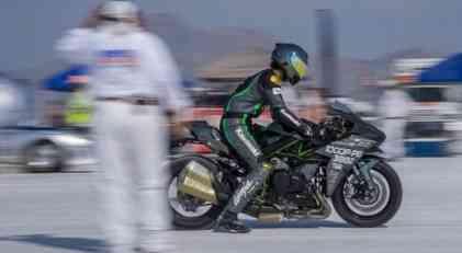 Kawasaki Ninja H2 postavio novi brzinski rekord