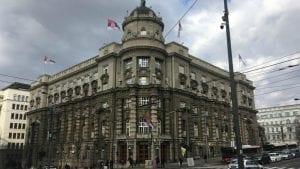 Kombi prevoznici protestovali u Beogradu