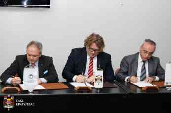 Komitet za Zapadni Balkan Privredne komore Mađarske otvorio kancelariju u Kragujevcu