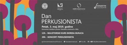 Koncert perkusionista u Koncertno-izložbenom prostoru FU