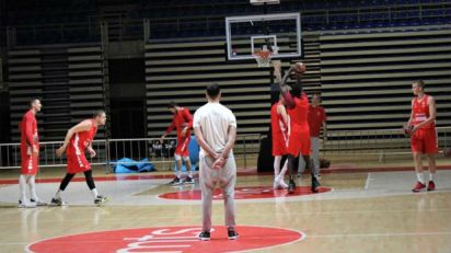 Košarkaši Zvezde posle dva meseca u dvorani Aleksandar Nikolić