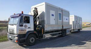 Kosovska policija postavila kontejnere kod Jarinja