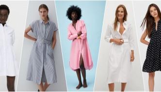 Košulja-haljina je ultimativni trend, a mi smo pronašli 10 najboljih