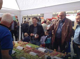 Kozarska Dubica: Na gradskom trgu izlagala 24 proizvođača voća