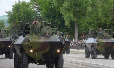 Kraljevo: Vojna vozila krenula u pravcu Raške