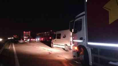 Lančani sudar na auto-putu između Novog Sada i Beograda
