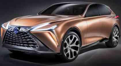 Lexus predstavio koncept LX-1