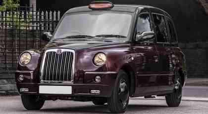 London Taxi TX4 Last Of Line Edition