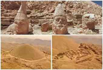 MISTERIJA PLANINE NEMRUT: I posle 2.000 godina tajna je kako su podignuti džinovski kipovi, a sumnja se da su prste umešali vanzemaljci! (VIDEO)