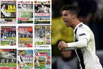 MONSTRUM, VANZEMALJAC, KRALJ LIGE ŠAMPIONA! Ronaldo bacio u trans Italijane, Englezi mu se dive, a Katalonci se prave da se ništa nije desilo! (FOTO)