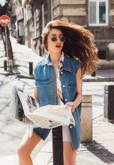 Majski modni editorijal: Denim & the City!