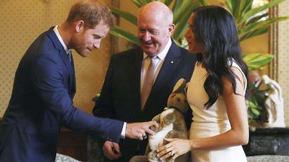 Megan i Hari u Australiji dobili prvi poklon za bebu
