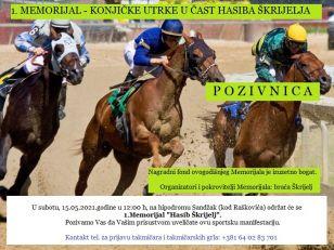 Memorijal- Konjičke utrke u čast Hasiba Škrijelja