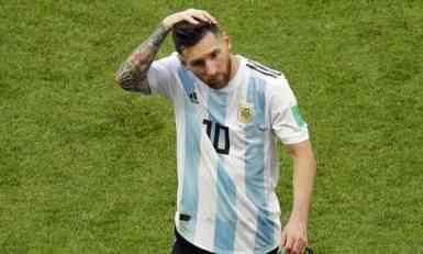 Mesi se opet oprostio od Argentine