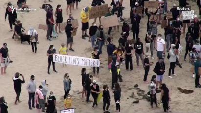 Mirne demonstracije širom SAD-a protiv policijske brutalnosti