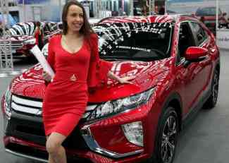 Mitsubishi Eclipse Cross na BG Car Showu