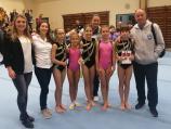 Mlade niške gimnastičarke treće u Srbiji