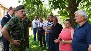 Mojsilović obišao poplavljena područja