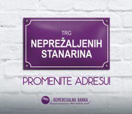 NAJLAKŠE DO KROVA NAD GLAVOM Najpovoljniji stambeni krediti Komercijalne banke