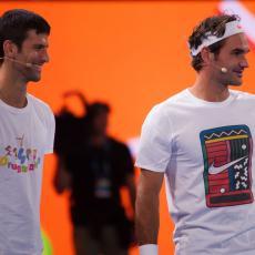 NIJE HTEO DA MU PREĆUTI: Novak se SUPROTSTAVIO Federeru! Čuo sam šta je pričao (FOTO)